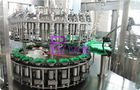 Full Auto Glass Bottle Liquid Filling Machine , Fruit Juice Filler 8000 Bottles Per Hour High Speed