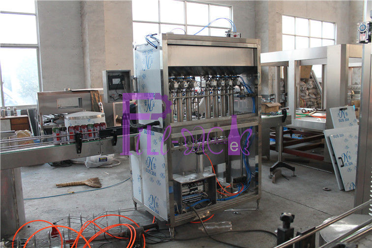 Linear Bottle Filling Machine Drinking Water Washing , Filling , Capping Machine